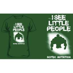 Scitec T-Shirt I see little people