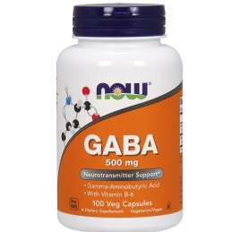 Now foods Gaba 750mg/100 Vcaps