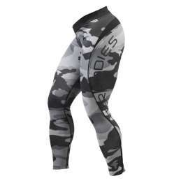 Better Bodies - Camo Long Tights - Grey