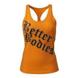 Better Bodies - Printed T-back, Bright orange