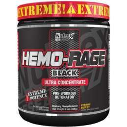 Hemo Rage Black Ultra Concetrate