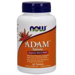 Now Foods - ADAM Men's Multi 60tabs