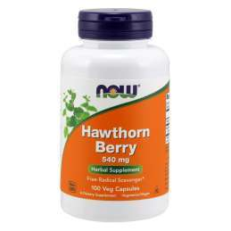 Now Foods Hawthorn Berry 540mg-100vcaps