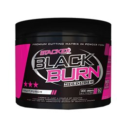 Stacker2 Black Burn Micronized 300g