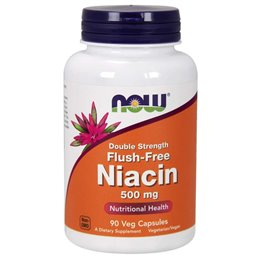 Now Foods Niacin Flush-Free 500mg 90vcaps