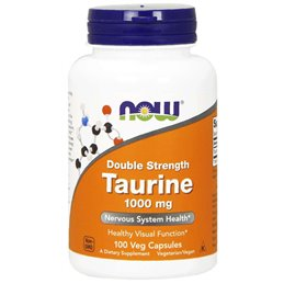 Now Foods Taurine 1000mg 100caps