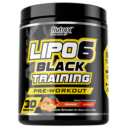 Nutrex Lipo-6 Black Training 195gr