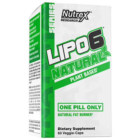 Nutrex Lipo-6 Natural 60vcaps