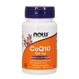 CoQ10 100 mg with Hawthorn Berry 30vcaps
