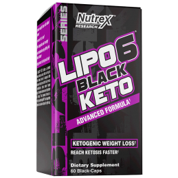 Lipo-6 Black Keto 60caps