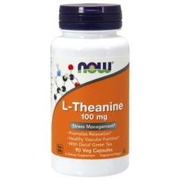 NOW Theanine 100mg 90vcaps