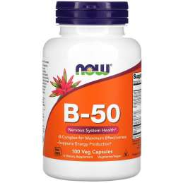 Now Foods B-50 100vcaps