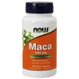 Now Foods Maca 500mg 100caps